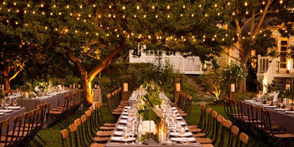 La iluminación perfecta para tu boda